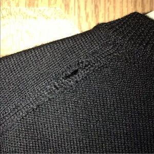 Club Room Sweaters - Club Room Sweater Vest Men's M Merino Wool Black